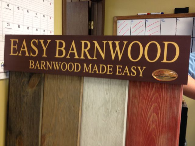 Easy Barnwood Display 1