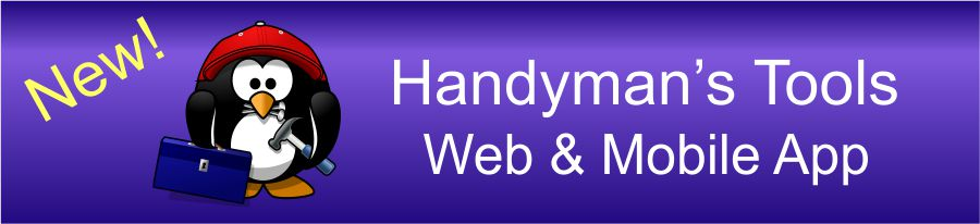 Handyman's Tools Web and Mobile App