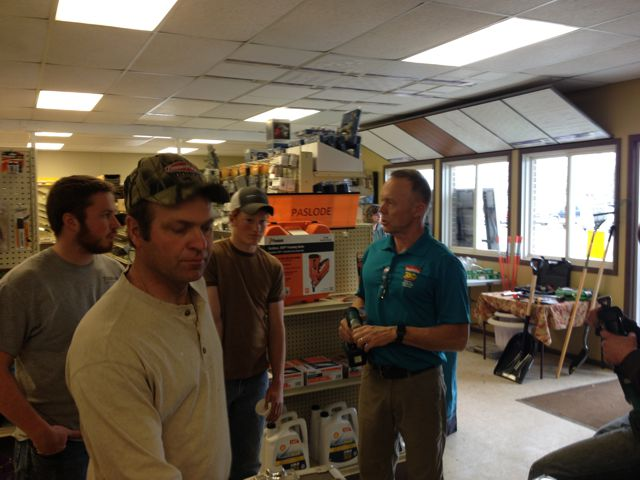 Talking with Makita Rep
