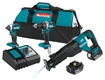 18V LXT® Lithium-Ion Brushless Cordless 3-Pc. Combo Kit