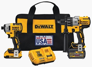 Cordless Drill and Driver Kit